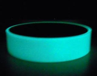 aqua blue glow adhesive tape