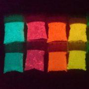 colored photoluminescent masterbatch